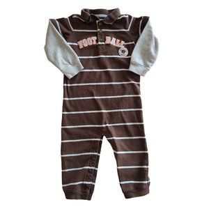 🍒3/$20🍒 CARTER'S Brown & Gray 1 pc Outfit 24 mo